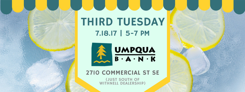 July 3rd Tues - Umpqua Bank