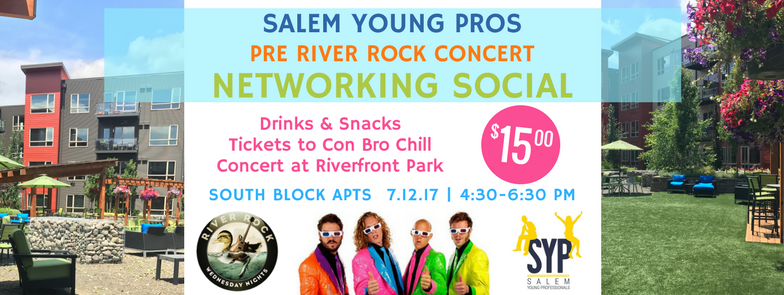 River Rock Networking Social 7.12